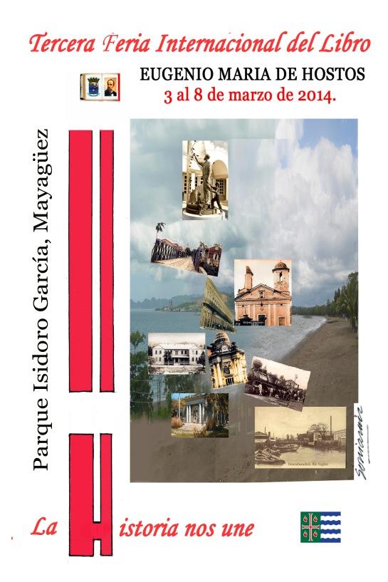cartel final 12x18 para III feria del Libro 2014